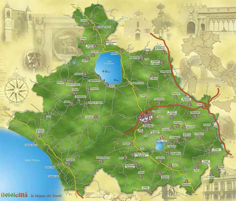 See what the Tuscia is