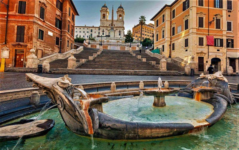 See the Spanish Steps