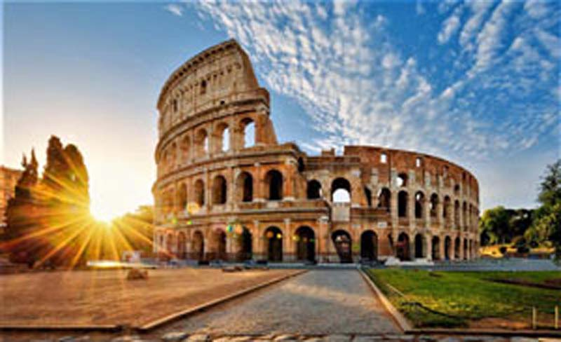 Find out Rome and the Colosseum